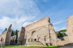 The Baths of Caracalla in Rome, Italy Stock Images