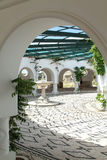 Baths of Kallithea Springs, on the island of Rhodes. Greece Stock Image