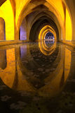 Baths of Lady Maria de Padilla Alcazar Seville Stock Photo
