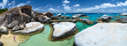 The Baths panorama Royalty Free Stock Image