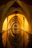 Baths of the Royal Alcazar. Sevilla, Spain Royalty Free Stock Photo