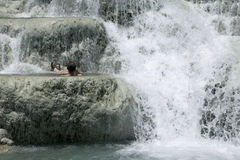 Baths of Saturnia Royalty Free Stock Photo