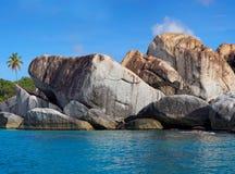 The Baths Virgin Gorda, British Virgin Island (BVI), Caribbean Royalty Free Stock Images