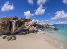 The Baths on Virgin Gorda Royalty Free Stock Images