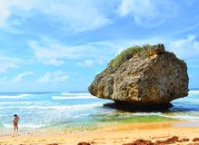 bathsheba Барбадосских островов стоковая фотография rf