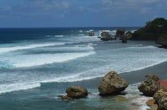 bathsheba Барбадосских островов Стоковое Изображение