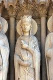 Bathsheba, собор Нотр-Дам, Париж Стоковая Фотография RF