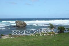 Bathsheba, Barbade Photo stock