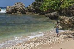 Bathsheba, Barbados, le Antille Immagini Stock