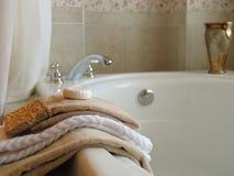 Bathtime élégant Photographie stock libre de droits
