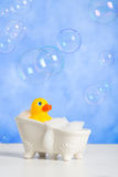 Bathtime Fun Stock Photo