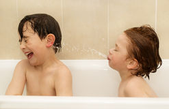 Bathtime fun Stock Photography