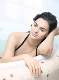 In the Bathtub Royalty Free Stock Photo