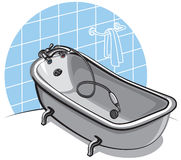 Bathtub Stock Photo