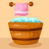 Bathtub stock illustration
