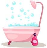 Bathtub royalty free illustration