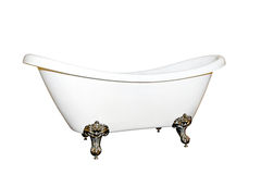 Bathtub angle isolated Royalty Free Stock Image