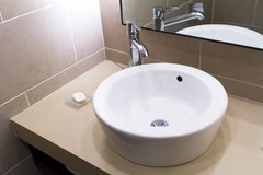 Bathtub in Bathroom Stock Photos