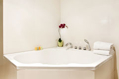 Bathtub corner Stock Photography