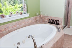 Bathtub Decor Royalty Free Stock Photos