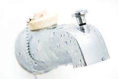 Bathtub Faucet Stock Image