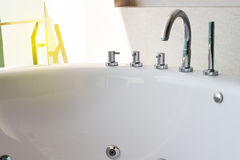 Bathtub faucet Stock Photography