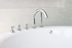 Bathtub faucet Royalty Free Stock Photos