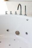 Bathtub faucet Stock Images