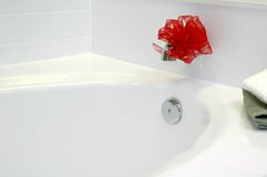 Bathtub Gift Royalty Free Stock Photo