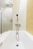 Bathtub shower Royalty Free Stock Photography