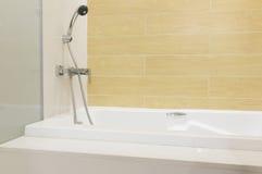 Bathtub shower Royalty Free Stock Photos