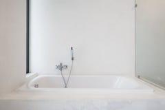 Bathtub shower Stock Photo