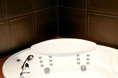 Bathtub spa Royalty Free Stock Image