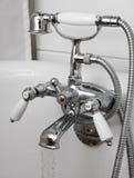 Bathtub taps Stock Photo