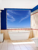 Bathtub view Stock Photography