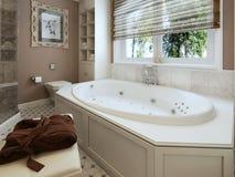 Bathtubs classic style Stock Image