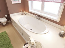 Bathtubs classic style Stock Photo