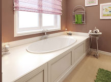 Bathtubs classic style Royalty Free Stock Image