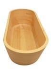 Bathtup de madera Fotografía de archivo libre de regalías