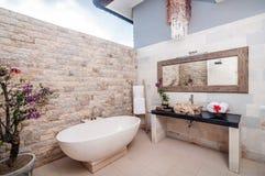 Bathup extérieur Image libre de droits
