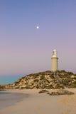 Bathurst fyr på den Rottnest ön Arkivbild