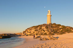 Bathurst Lighthouse on Rottnest Island Stock Photo