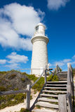 Bathurst Lighthouse Rottnest Island Perth. Bathurst Lighthouse on Rottnest Island, Western Australia, close to the Indian Ocean coast of Perth Royalty Free Stock Photos