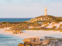 Bathurst Lighthouse on Rottnest Island Royalty Free Stock Photography