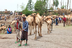 Bati market Stock Image