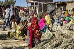 Bati marknad, Etiopien royaltyfri foto