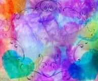 Batic floral illustration libre de droits