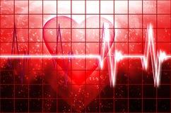 Batida do coração de Cardial Fotografia de Stock Royalty Free