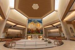 Batida, Mayo, Irlanda ` S Marian Shrine nacional da Irlanda em Co Mayo, visitado perto sobre 1 5 milhões de pessoas todos os anos imagens de stock royalty free