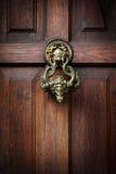 Batida na porta de Dracula Imagens de Stock Royalty Free